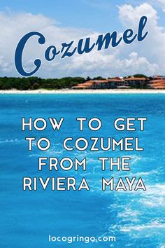 Cozumel is a sometimes overlooked destination when vacationing in the Riviera Maya. There are a variety of ferries and an airplane that will get you to the island from Playa del Carmen