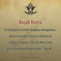 Buda Benim Burcum :)