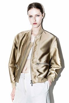 Tromp L'oeil Bomber Jacket | 3.1 Phillip Lim Official Store