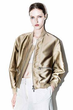 Tromp L'oeil Bomber Jacket | 3.1 Phillip Lim Official Store