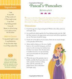 The Disney Princess Cookbook Disney Dishes, Disney Desserts, Disney Snacks, Disney Food, Disney Recipes, Disney Themed Food, Disney Inspired Food, Healthy Meals For Kids, Kids Meals