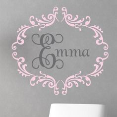 Complete your little girl's nursery or bedroom with the Princess Interlock Wall Decal from Alphabet Garden Designs! Choose your colors to match your child's room! Monogram Wall Decals, Kids Wall Decals, Girl Nursery, Girls Bedroom, Nursery Ideas, Bedroom Ideas, Mma, Alphabet, Princess Room