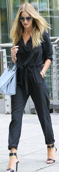 Sunglasses – Miu Miu Jumpsuit – Gerald Darel Shoes – Michael Kors Watch – Rolex