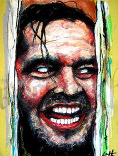 Print 8x10  Here's Johnny  The Shining Horror Classic by chuckhodi, $10.00