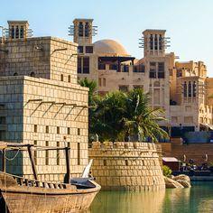 Madinat Jumeriah, Dubai. Once the residence of pearl divers and fishermen
