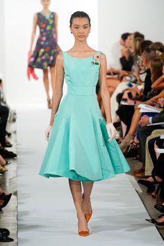 Oscar de la Renta Spring 2014 Runway Show | NY Fashion Week | POPSUGAR Fashion