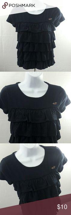 """❤ Hollister XS Women's top EUC. 60% cotton, 40% polyester. Bust & waist 15"""" flat. Hollister Tops"""