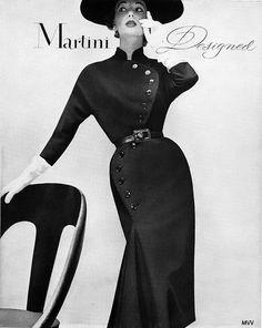 1951 Martini Designed Tailored Suit