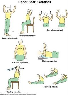 Physical Therapy Exercises In Pictures | Physical Therapy Online There's a large set of these for different parts of the body and for different injuries and conditions