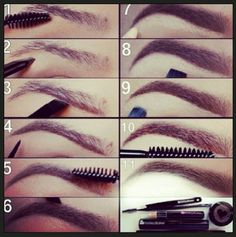 How to do brows. @lilthings1987
