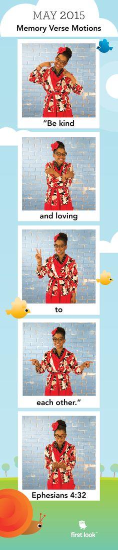 May 2015 - Memory Verse Motions Preschool Bible Verses, Verses For Kids, Bible Lessons For Kids, Bible For Kids, Preschool Lessons, Church Activities, Bible Activities, Craft Activities For Kids, Sunday School Teacher