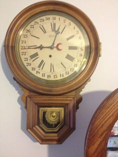 Linden 31 Day Chime Pendulum Wall Clock W Key Korea