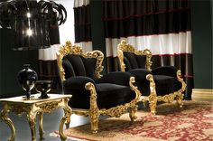 Michelangelo Designs - Traditional Living Room Will look good in a library with black wood and vintage cigar leather.
