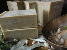 Soap With Green And Yellow Clay Home Made Soap Clay Homemade