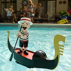 Singing Gondolier Pool Toy.  I need this for some weird reason....