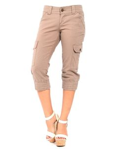 Like these khaki capris