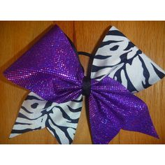 Cheer bow ❤ liked on Polyvore