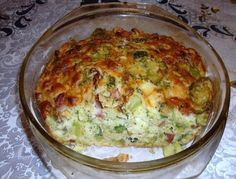 Brambory, brokolice (můžeme nahradit i květákem), šunka, sýr a smetana. Vynikající kombinace. Autor: jitule
