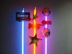 Schilder Werbung WAY-LIGHT Leuchtstab