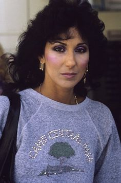 Doesn't even look like this anymore.  Cher Bono circa 1980s
