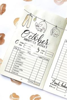Looking to get your finances out of your head and in to your journal?! These awesome bullet journal budget tracker ideas will help you get started! #bulletjournalideas Bullet Journal Notebook, Bullet Journal Layout, Bullet Journal Ideas Pages, Bullet Journal Inspiration, Bujo, Bullet Journal Spending Tracker, Budget Notebook, Budget Book, Weekly Log