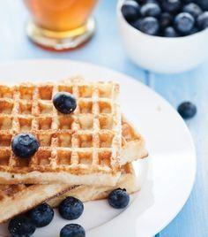 Prepara unos delicioso waffles saludables para ti y tu familia.