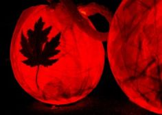 Autumn ~ Martinmas ~ Balloon Lantern Tutorial