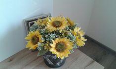 Plecháček+se+slunečnicemi+Plecháček+se+slunečnicemi.+Výška+dekorace+25cm,délka+25cm,šířka+25cm. Boho, Plants, Bohemian, Plant, Planets