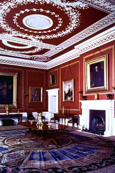 Dining Room of Attingham Park