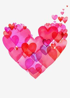 """Rumi: """"I belong to no religion. My religion is LOVE. Every heart is my temple."""" (Hearts Hearts Hearts by Margaret Berg)"""