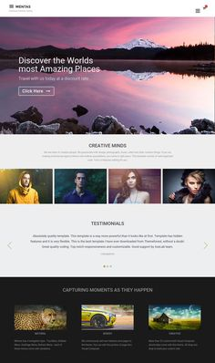 Check Out New Instagram Promo Wall Here Httpsmotionarraycom - Awesome after effects website template design