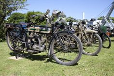 Vintage Motorcycles at Beamish Power from the Past