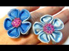 Tutorial: Flor anillo elegance. Elegance rings.