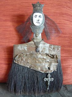 The Dark Queen Paintbrush Doll