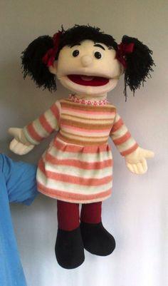 Girl puppet: