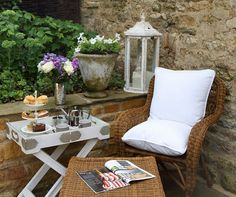 So relaxing in a French inspired cottage
