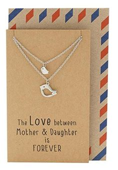 Mother Daughter Necklace, Gifts for Mom Bird Necklace Set... https://www.amazon.com/dp/B018RUDKB0/ref=cm_sw_r_pi_dp_x_DgkTybDX257XK