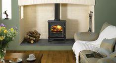 Stockton 7 Wood Burning & Multi-fuel - Stovax Stoves