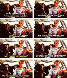 Modern Family. Phil, Haley and Alex