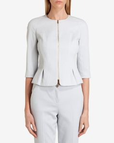DHIAA Waffle suit jacket - Gray | Suits | Ted Baker