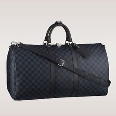 Louis Vuitton Damier Cobalt Duffle: The Keepall Bandoulière 55 ($1,660) will make your last-minute weekend trips more stylish than ever.