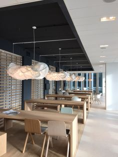 XAL lighting fixtures Karo and Frame for project 'The Rotterdam' from architect Rem Koolhaas