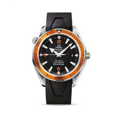 Pre Owned Watches Omega Planet Ocean Orange Dial Watch | Laings of Glasgow | Pre Owned Watch
