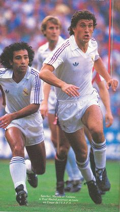 Hugo Sánchez & Jorge Valdano, 1986. First Football, Football Love, Best Football Players, Football Design, World Football, Soccer Players, Hugo Sanchez, Fifa, Alabama