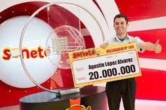 Un número le cambió todo a Agustín que se ganó Gs. 20.000.000 con el #Progresivo en el sorteo del 10/01/16