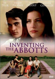 Inventing the Abbotts (1997) Rated R 6.4 A light-hearted story of two working-class brothers courting three wealthy and beautiful sisters in a small Illinois town.