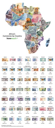 The value of currency differs across the world and often change over time. The currency exchange rate converts the value of one form of currency into another. Africa Map, Flags Of The World, Countries Of The World, African Countries, Zimbabwe, African History, History Facts, World History, Fun Facts