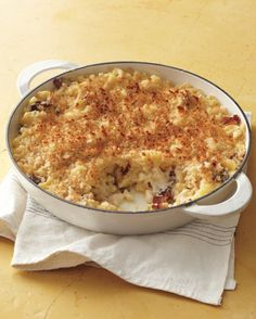 It's hard to improve on this classic comfort food, but we think we've done it. Everyday Food host Sarah Carey makes this one-pot meal even better with bacon. Get the Skillet Bacon Macaroni and Cheese Recipe