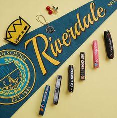 Best Bracelet 2017/ 2018 : Rule the School // Riverdale Rubber Bracelets Patches and Necklaces