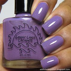 Great Lakes Lacquer Lavender Light | Addicted to Polish